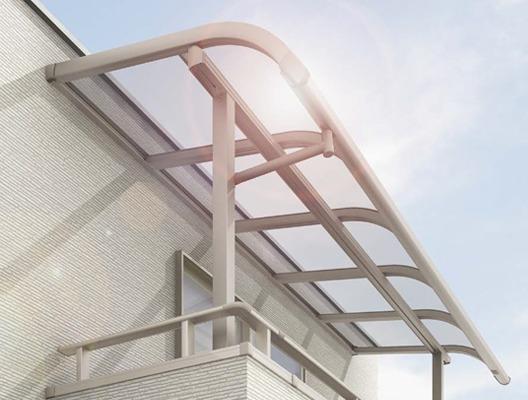 LIXILパワーアルファベランダバルコニー屋根