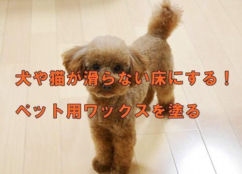 犬や猫が滑らない床