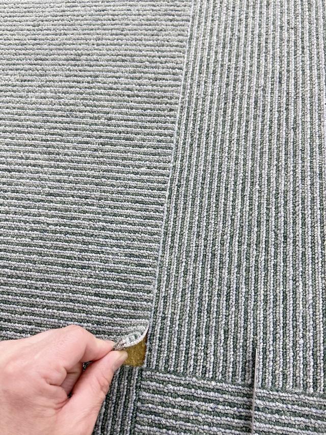 タイルカーペットの部分張り替え